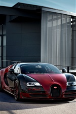 Bugatti Veyron Grand Sport Vitesse supercar iPhone wallpaper