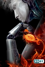 ESET NOD32 iPhone wallpaper
