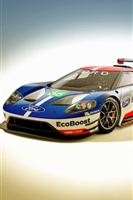 2016 Ford GT race car iPhone wallpaper