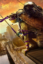 2016 movie, Teenage Mutant Ninja Turtles 2 iPhone Wallpaper