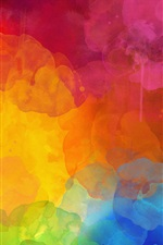 Abstract pictures, colorful colors iPhone wallpaper