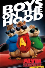 Alvin and the Chipmunks: The Road Chip 2015 iPhone wallpaper