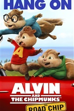 Alvin and the Chipmunks: The Road Chip iPhone Wallpaper