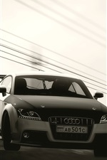 Audi car front view iPhone wallpaper