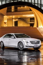 Cadillac CT6 sedan iPhone wallpaper