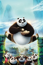 Kung Fu Panda 3 iPhone wallpaper