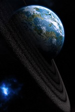 Planet, earth iPhone wallpaper