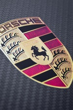 Porsche supercar logo iPhone wallpaper