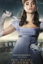 Pride and Prejudice and Zombies 2016 iPhone wallpaper