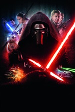 Star Wars: The Force Awakens iPhone wallpaper