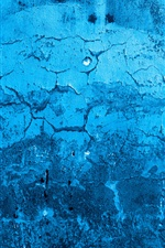 Blue wall, texture iPhone wallpaper