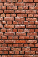Brick wall background iPhone wallpaper