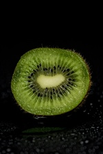 Kiwi cutting surface iPhone wallpaper