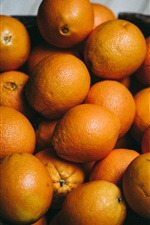 Many oranges iPhone wallpaper