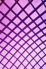 Purple mesh iPhone Wallpaper