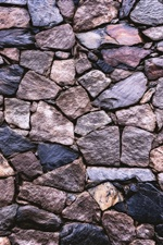 Stones wall, texture iPhone Wallpaper