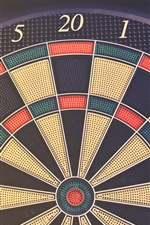 Darts target board iPhone wallpaper