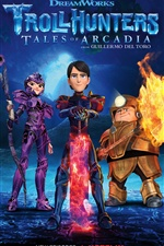 Trollhunters, season 3 iPhone wallpaper