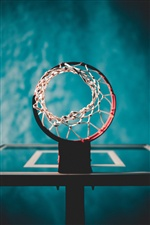 Basketball ring, mesh iPhone Wallpaper