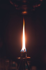 Fire, flame, darkness iPhone Wallpaper