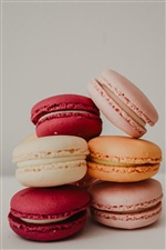 Macaroons, cake, colors iPhone wallpaper
