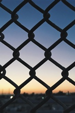 Wire fence, grid iPhone wallpaper
