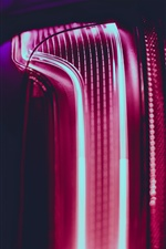 Neon light, lines iPhone wallpaper