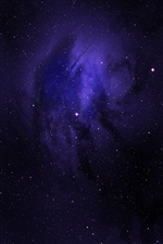 Stars, space, purple iPhone wallpaper