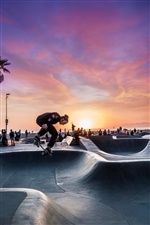 Skateboard, sport iPhone wallpaper